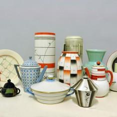 Gjenstander formgitt av Nora Gulbrandsen/Telemark  museum